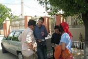 Mai 2014: prima călătorie de identificare şi intervievare a supravieţuitorilor deportărilor în Transnistria