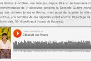 Génocide des Rroms sur RFI